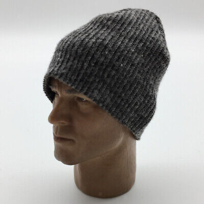 1//6 Scale Black Beanie Hat Cap for 12/'/' Action Figure Hot Toys Male