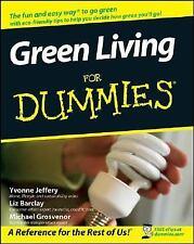 Green Living for Dummies by Yvonne Jeffery, Liz Barclay and Michael Grosvenor (…