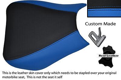 BLACK /& LIGHT BLUE 04-07 CUSTOM FITS HONDA CBR 1000 FIREBLADE FRONT RIDER  COVER