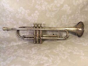 Antique M J Kalashen Trompette Avec étui & Même Maker Embout Buccal-afficher Le Titre D'origine Jfnx9cfu-07163127-189331624