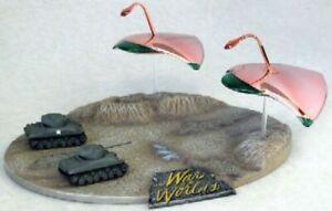 2009-1-144-War-of-the-Worlds-war-Machines-vs-Sherman-Tank-new-plated-model-kit