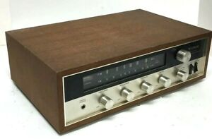 RARE-Vintage-YORK-Solid-State-AM-FM-Stereo-Receiver-MPX-23-WORKS-JAPAN
