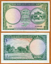 Vietnam / Viet Nam South, 1 dong, ND (1956), P-1, UNC
