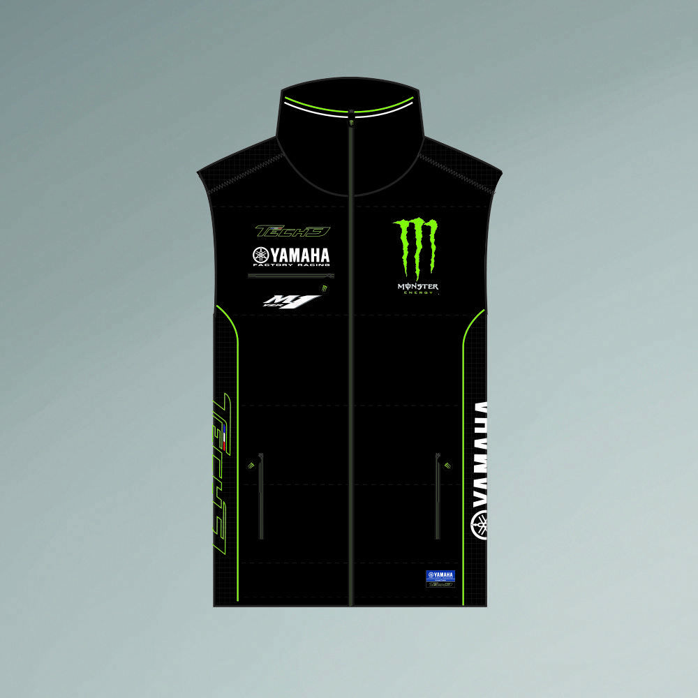 Officiel Tech 3 Monster Yamaha Body Warmer - 17