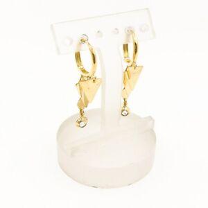 Ohrringe aus 14 kt Gold mit Zirkonia
