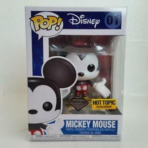 Disney #01 Mickey Mouse Diamond Glitter POP Gold