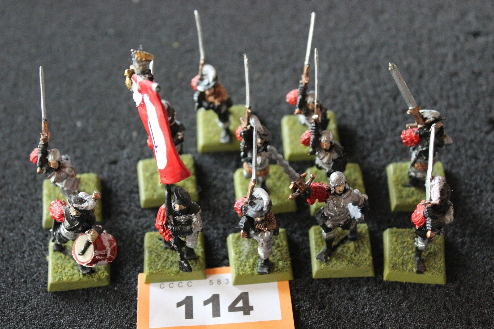 Games Workshop Warhammer Empire Greatswords Classic Regiment Painted Army Metal