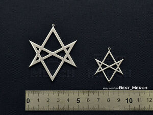 Bring Me The Horizon Necklace Unicursal Hexagram Thelema Supernatural Pendant Ebay