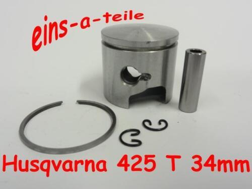 Pistón adecuado para Husqvarna 425 t 34mm nuevo calidad superior