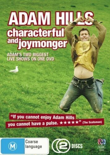 1 of 1 - Adam Hills - Characterful and Joymonger (DVD, 2008, 2-Disc Set)