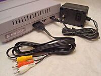 Snes Super Nintendo Hook-ups Kit Ac Adapter + Av Cable Brand Set Guarantee