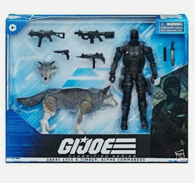 "Hasbro G.I. Joe Classified Series Snake Eyes and Timber: Alpha Commandos 6"" Act…"