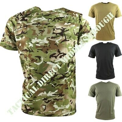 Black Operator Mesh-Tech Armour Top Quick Drying Wicking Stretch Fit Airsoft