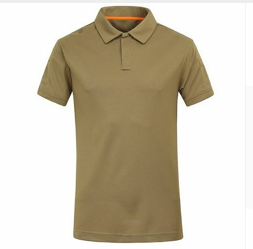 Mens Tee Shirt Camouflage Army Military Trekking Hunting Survival Camping Polo T