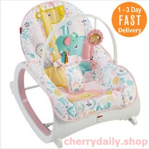 0fbafa7b2 Silla Mecedora Sillas para Bebes con Vibracion y Musica Pink Fisher ...