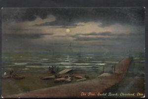 America-Postcard-The-Pier-Euclid-Beach-Cleveland-Ohio-RS4337