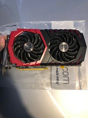MSI Radeon RX 570 4GB Gaming X Graphics Card GPU AMD w// Original Box