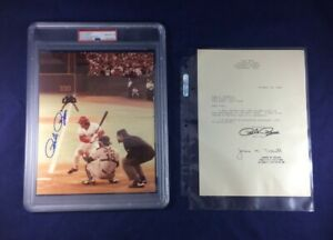 2-PETE-ROSE-SIGNED-8X10-4-192-GEM-MINT-10-LETTER-AUTHENTICATED-BY-PSA-DNA