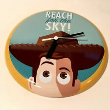 9fe8b65160d8 item 3 DISNEY PIXAR TOY STORY S WOODY REACH FOR THE SKY WALL CLOCK ONLY  HALLMARK WORKS -DISNEY PIXAR TOY STORY S WOODY REACH FOR THE SKY WALL CLOCK  ONLY ...