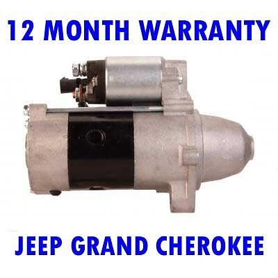 STARTER MOTOR Jeep GRAND CHEROKEE 3.1 DIESEL 1999 2000 2001 2002 2003 2004 2005