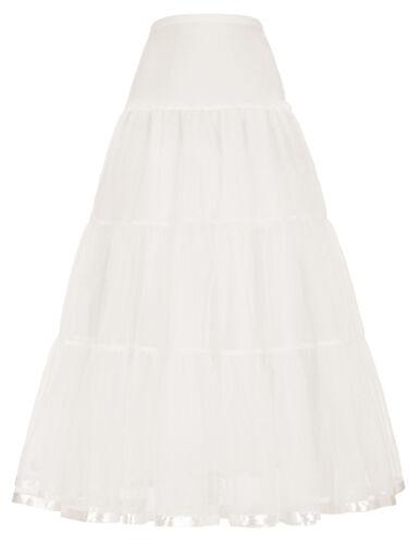 Grace Karin Vintage Petticoat Crinoline Underskirt Wedding Dress Skirt Slip