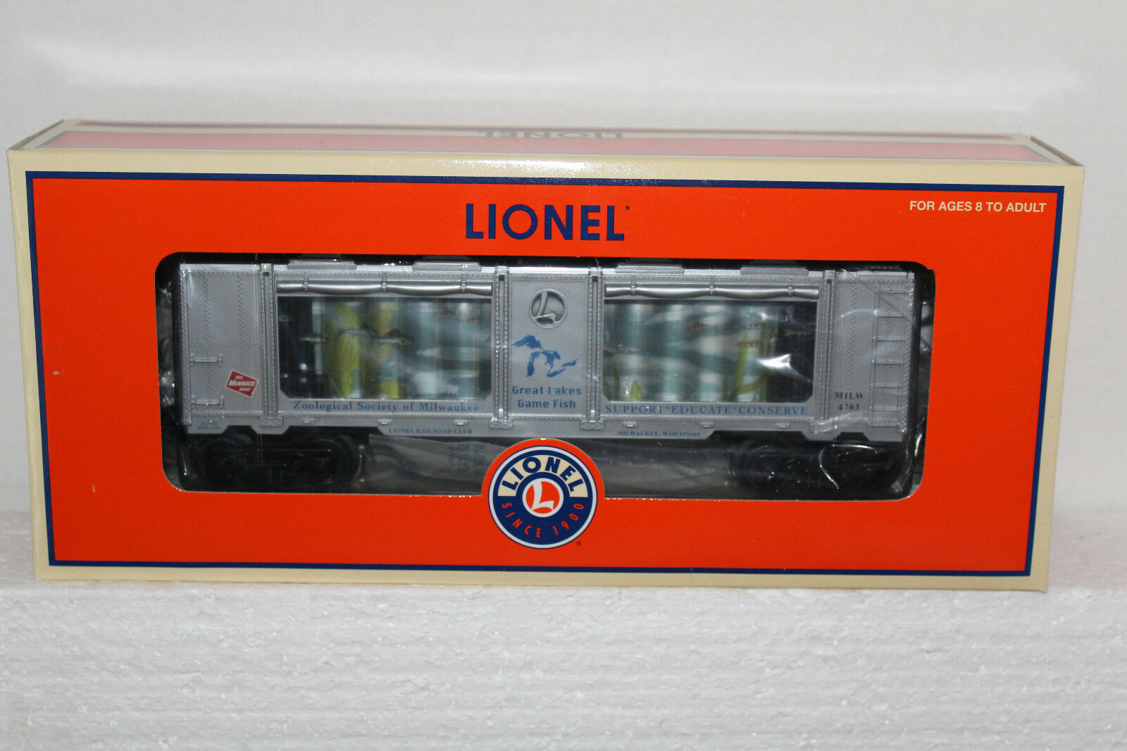 Lionel  52337 Milwaukee Lionel RR club  Operating Aquarium Car