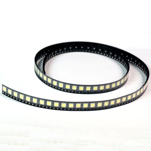 5000mcd 5050 SMD White LED 100pcs