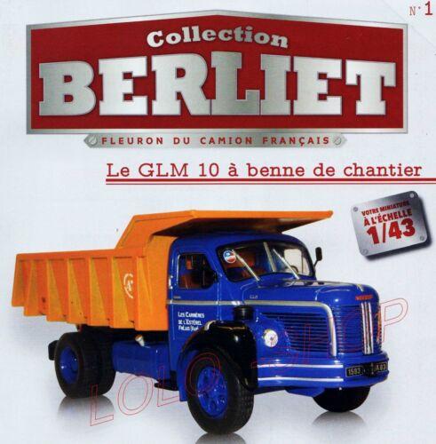 1//43 EME ixo-hachette-truck berliet glm 10 dumpster marrel 1953