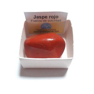 Jaspe-Rojo-Piedra-Natural-Pulida-Rodado-3-4-cm-en-Caja-de-coleccion-proteccion