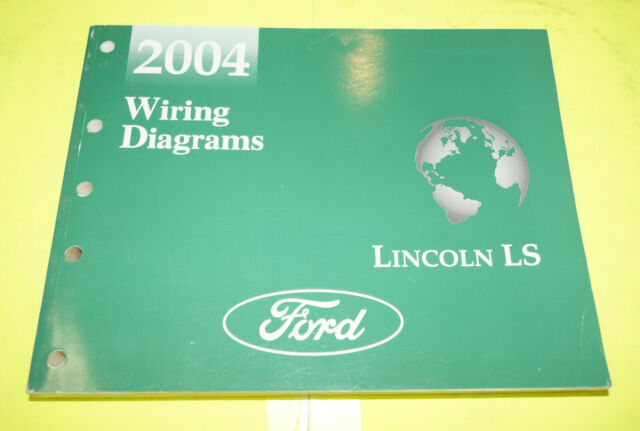 2004 Ford Lincoln Ls Oem Evtm Factory Wiring Diagrams