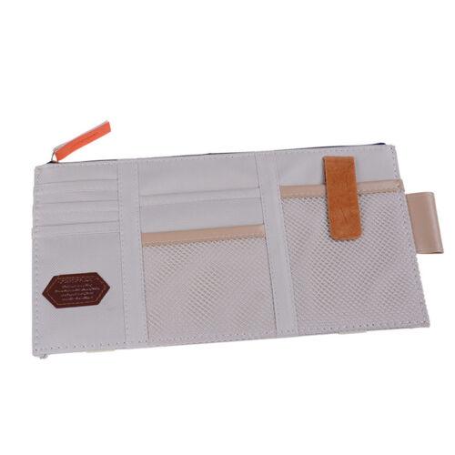 Auto Sonnenblende Point Pocket Organizer Tasche Tasche Kartenspeicherung CRSFD