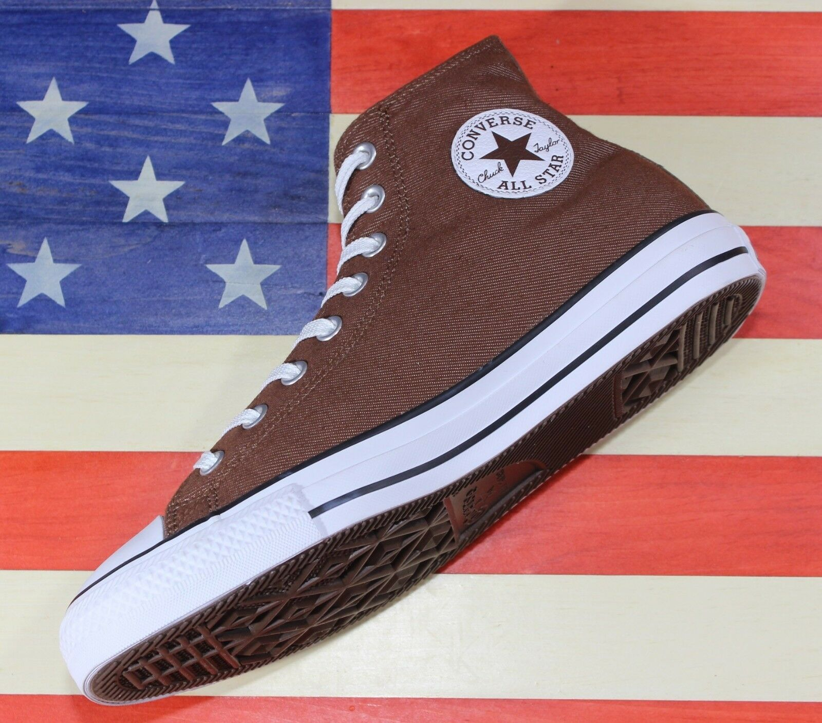 CONVERSE SAMPLE Chuck Taylor ALL-STAR HI Marron Thinsulate Vegan [157497C] Taille 9