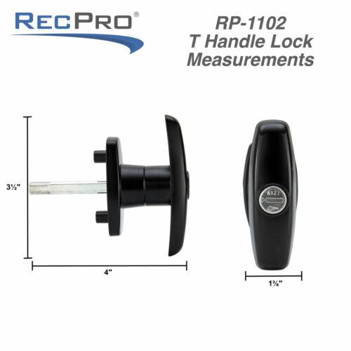 Tonneau Cap Cover Lock T-323 Handle for LEER Century Bauer K127 Cylinder Key