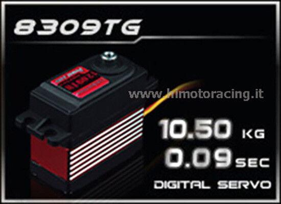 HD-8309TG Servo Digitale 10.5Kg energia HD-8309TG con ingranaggi  in titanio  spedizione gratuita