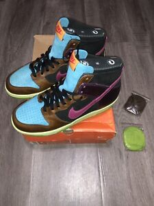 finest selection 84c1b 91554 Image is loading DS-2003-Nike-Dunk-Hi-NL-Undefeated-Clerks-