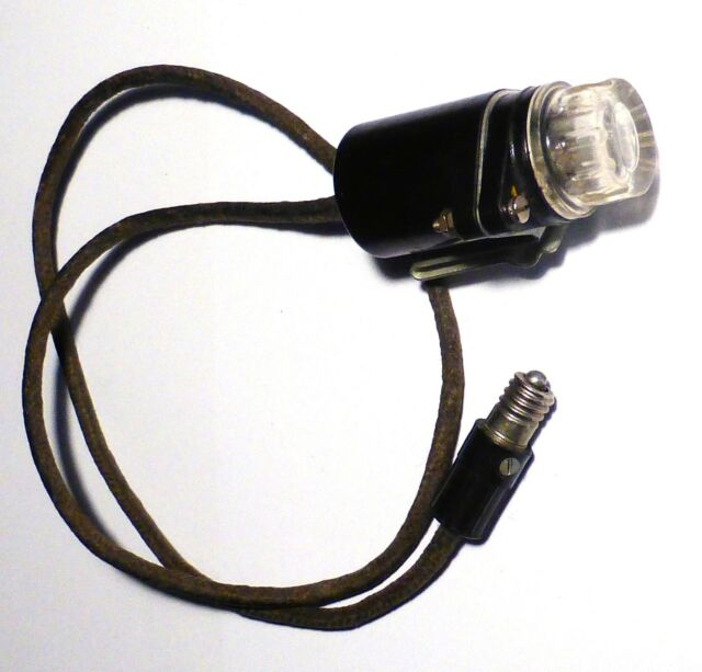 Lamps Operator N°6 ZA11521  WWII RAF Air Ministry WS19 wireless set accessory