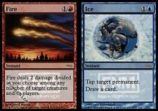 1 PROMO PLAYED FOIL Fire // Ice - Friday Night Magic MtG Magic Blue Rare 1x x1