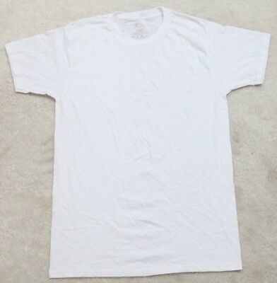 Fruit Of The Loom Boys Big Cotton White T Shirt
