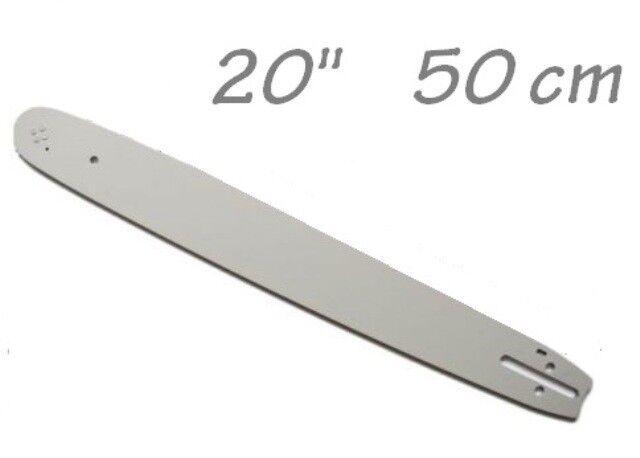 """Schwert Führungsschiene 0,325/"""" 1,5mm für Motorsäge Kettensäge 20/"""" 50cm"""