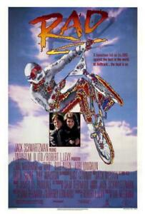 Rad-Movie-POSTER-27-x-40-Bill-Allen-Bart-Conner-Talia-Shire-A