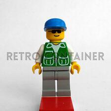 LEGO Minifigures - Driver - pck023 - Pilota City Town Omino Minifig Set 6549