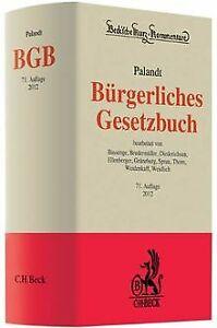 Buergerliches-Gesetzbuch-von-Palandt-Otto-Buch-Zustand-gut