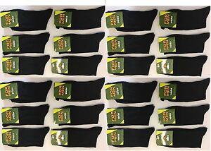Socks Men's Clothing *50 Pairs Men's Black Socks Cotton Rich Formal Socks Everyday Size 6-11 Sprsn
