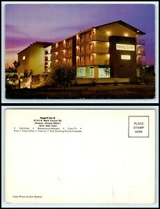 ARIZONA-Postcard-Phoenix-Regal-8-Inn-N-Motel-Hotel-H16