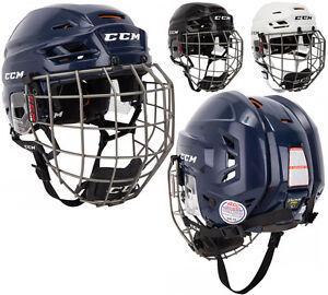 661ea2e728f Image is loading CCM-Tacks-710-Hockey-Helmet-Combo-Sr