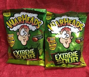 Image Is Loading Warheads 2 Bags Of Candy Extreme Sour Assorted