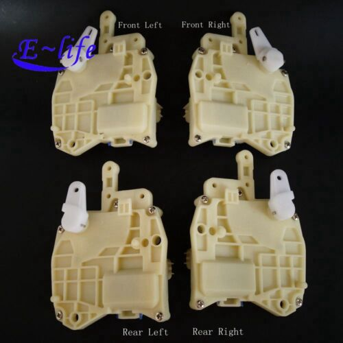 1 Set Front//Rear Left//Right Door Lock Actuator for Honda Odyssey Civic