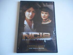 2 DVD - NCIS ENQUETES SPECIALES - SAISON 1 / DVD 3 & 4