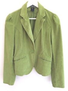 Gap-Fine-Corduroy-Blazer-Cotton-Green-Grunge-M-10-38