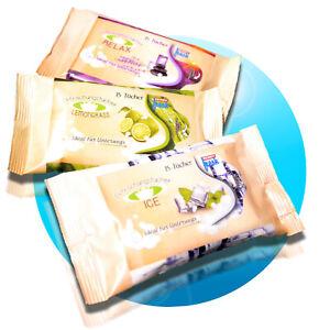 15x-45x-Erfrischungstuecher-Erfrischungstuch-Duft-Auswahl-Relax-Lemongrass-Ice